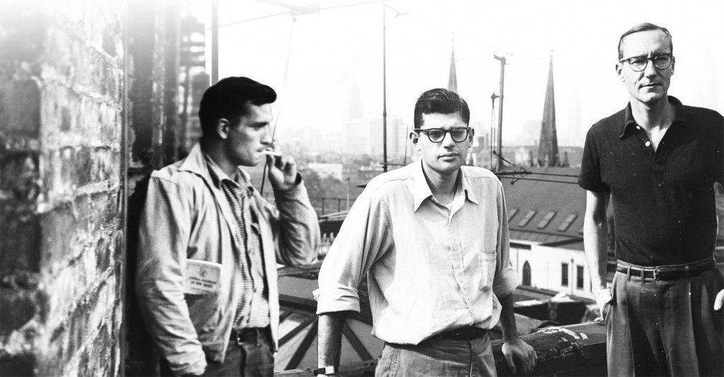 Da sinistra: Jack Kerouac Allen Ginsberg e William Burroughs
