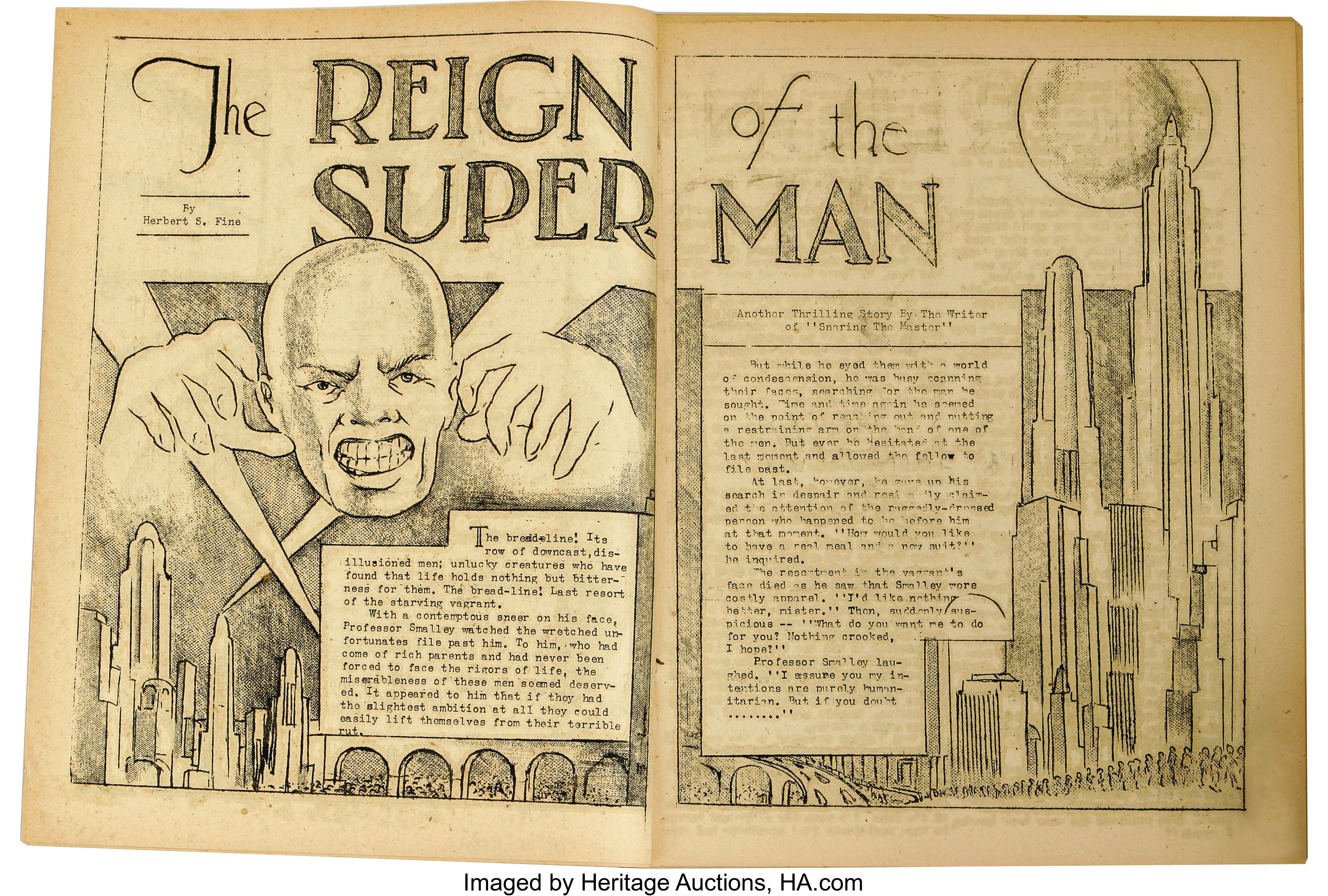 Reign of the Superman 1933